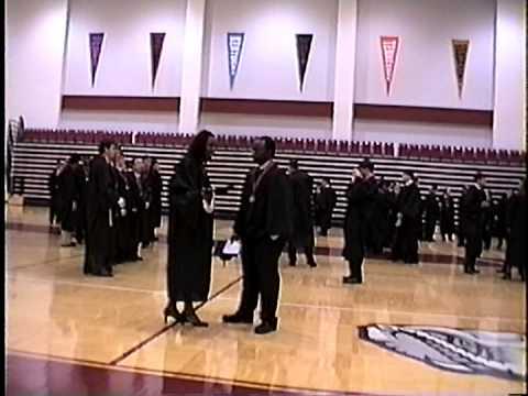 The University of Alabama Graduation Dec 2003