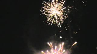 Poblacion Malay Aklan fireworks2011