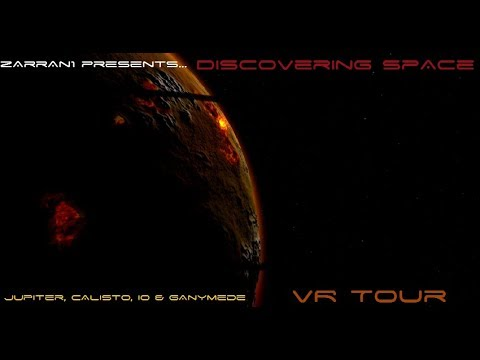 IO my Love :) Discovering Space 2 ~ Jupiter Tour: Oculus Rift Virtual Reality