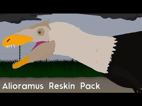 Alioramus Reskin Pack