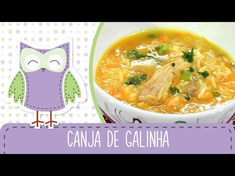 Canja de Galinha (Julho das Sopas) - Receitas da Mãe Coruja #67