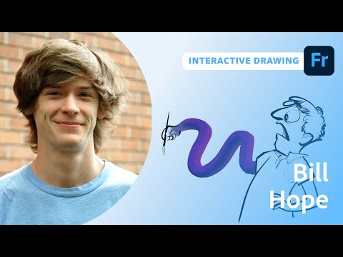 Interactive Drawing with Bill Hope
