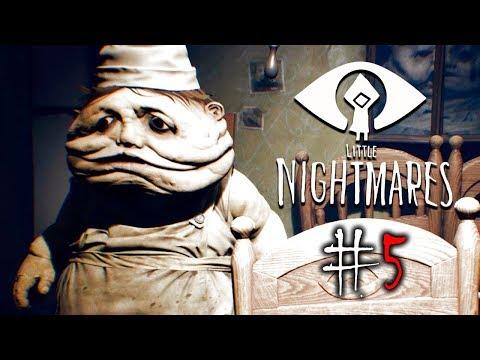 ВСТРЕЧА С ПОВАРОМ! Мои Маленькие Кошмары - Little Nightmares #5