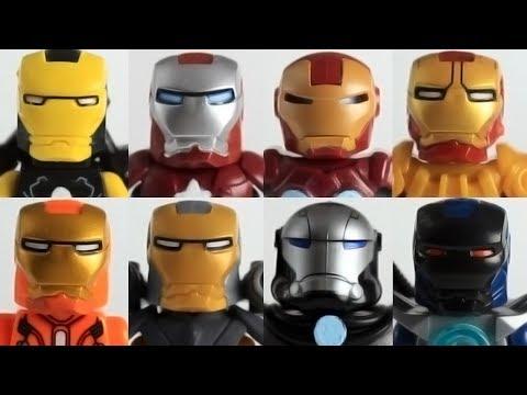 Part 1 Custom Lego Marvel Iron Man minifigure collection