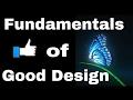 Fundamental Elements of Good Design