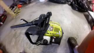 Quick review of Ryobi BP42 Blower, Lawn care, Power equipment