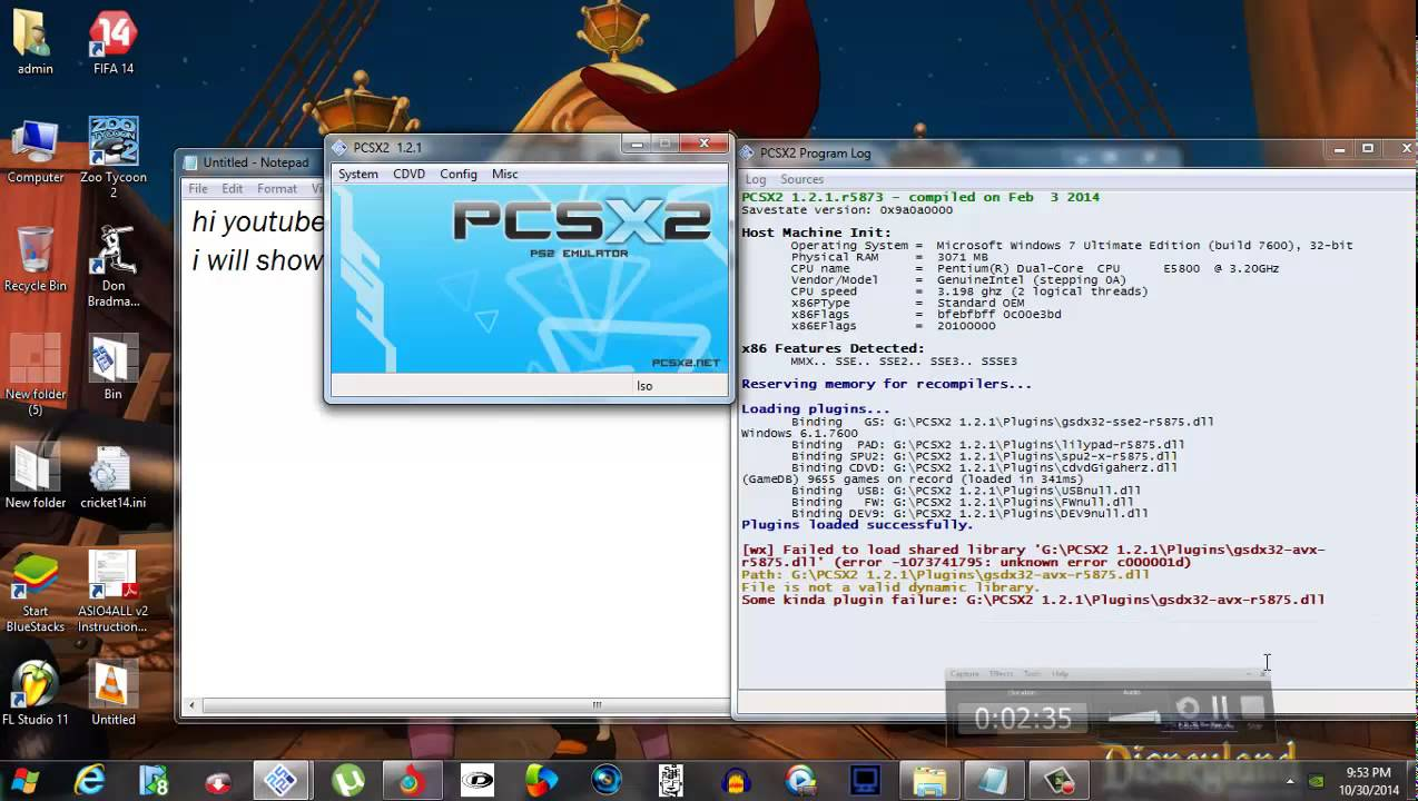 PCSX2 1 2 1 PS2 emulator best configuration for fast gameplay