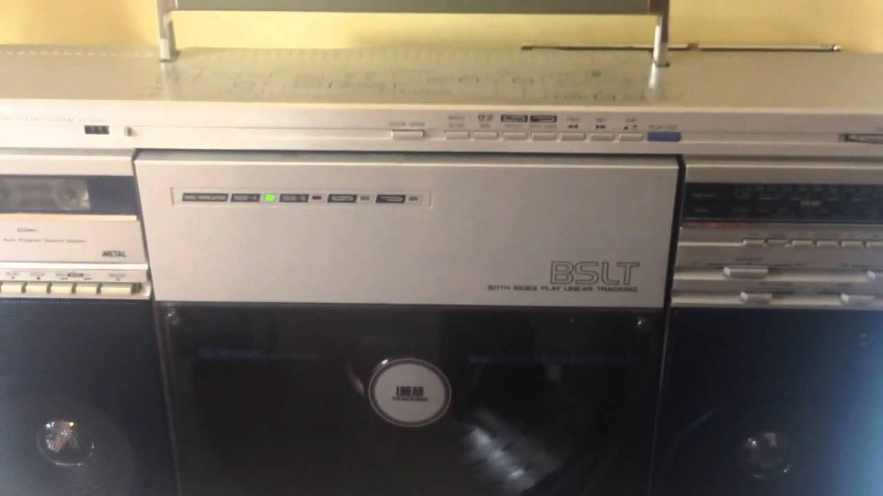 Sharp Vz 2500 Ghettoblaster Boombox Mint Doovi