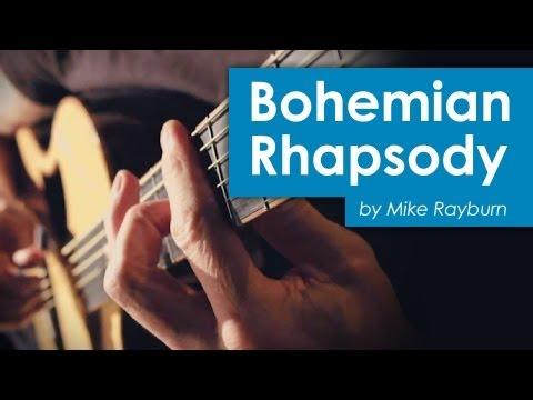 """Bohemian Rhapsody"" Guitar cover by Mike Rayburn"