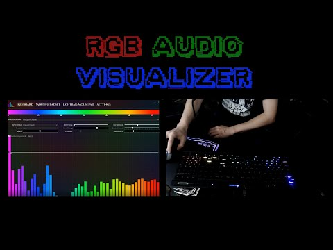 How I turned my RGB Keyboard into an audio visualizer!