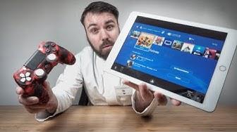Endlich! PS4 Games auf dem iPhone & iPad spielen + Dualshock & Scuf Controller! Tutorial Remote Play
