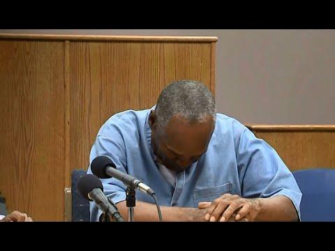 OJ SIMPSON:  Raw video of Nevada Prison Board Granting OJ Simpson Parole