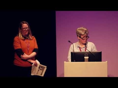 DCDC17 | National Library of Scotland at Kelvin Hall - Ruth Washbrook & Gill Hamilton, NLS