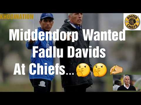 FADLU DAVIDS AT KAIZER CHIEFS!!?🤔🤔🤔
