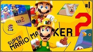 Super Mario Maker 2 #1 - Miłośnik Goomb vs. Szubrawe Muchomory (co za zmory, pomidory)