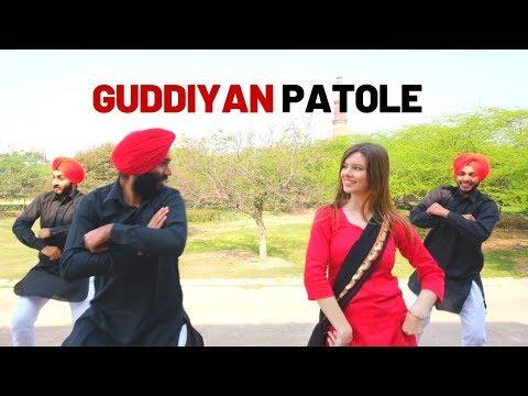 GUDDIYAN PATOLE | GURNAM BHULLAR | Bhangra By Christine & Folking Desi