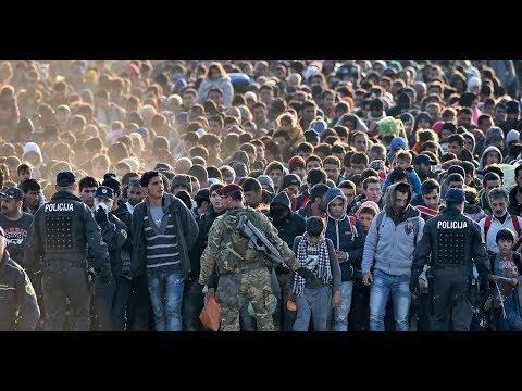 Breaking ISLAMIC INVASION Millions of Muslim migrants to Flood Europe now through 2018 June 26 2017