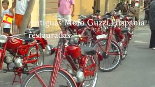 Antigüas Moto Guzzi Hispania restauradas