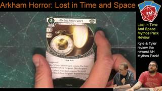 Kyle H and Tyler T Review the newest Arkham Horror LCG Mythos Pack:...