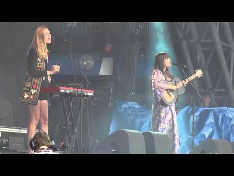 "First Aid Kit - ""America"" - Glastonbury Festival, 30th June 2013"