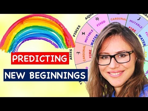 Easy Astrology Techniques for Predicting NEW Beginnings in LIFE. Solar Return, Progression,Transits