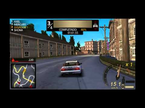 GAMEPLAY NEED FOR SPEED UNDERCOVER PSP (download) - YouTube