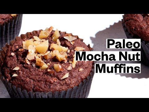 Paleo Mocha Nut Muffins (Gluten-Free, Dairy-Free)