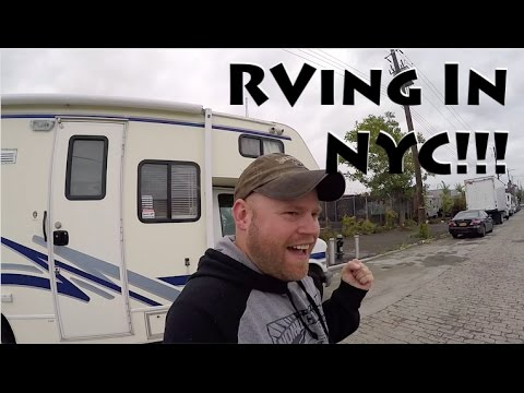 RV Driving & Camping Downtown New York City