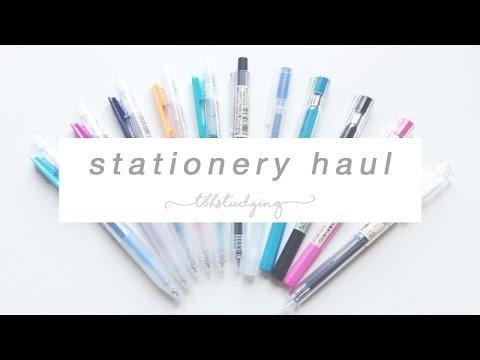 socal stationery haul