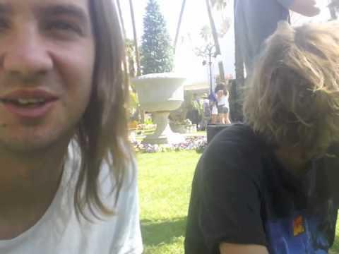 Tame Impala Interview at Coachella 2011