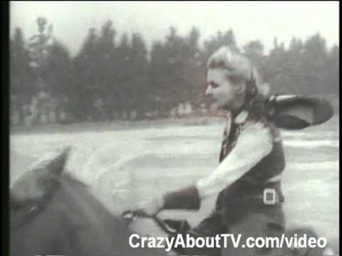 Annie Oakley TV Show Western Intro Video Clip