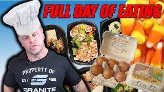 Full Day Of Eating with John Meadows