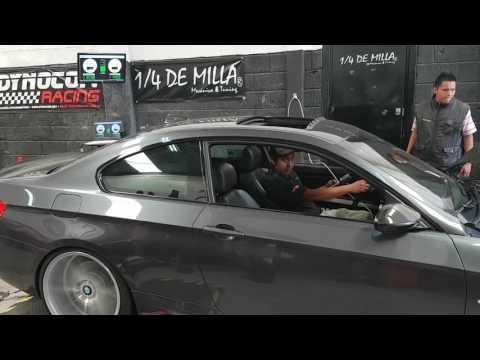 BMW e96 335 twin turbo + repro + filtros afe power + catback remus dyno test dynocom dinamometro
