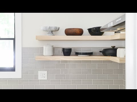 How-To DIY Floating Shelves!