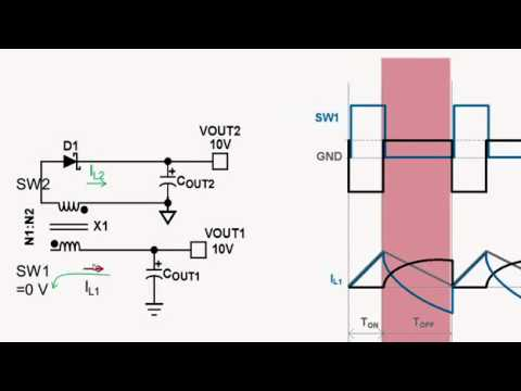 How to use Fly-Buck DC/DC converter topology