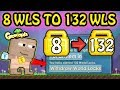 8 WLS TO 132 WLS (6 STEP - EASY!!), HOW ?! **FAST RICH** - Growtopia How To Get Rich 2019