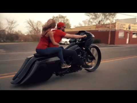 """30"""" Wheel Turbo Harley Road Glide Custom Harley Bagger F Bomb Baggers"""