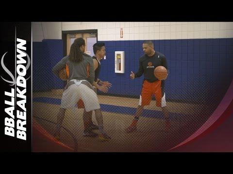 Basketball Drills: 2 Man High Intensity Pick And Roll Skills