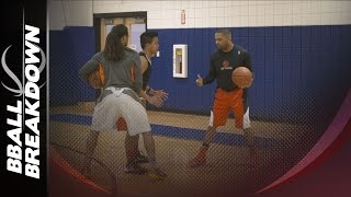 Basketball Drills: 2 Man High Intensity Pick And Roll Skills
