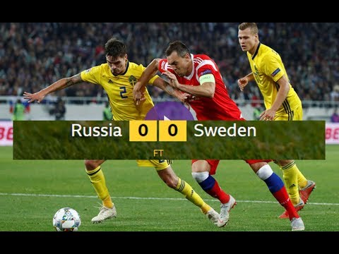 RUSSIA 0 - 0 SWEDEN EXTENDED MATCH HIGHLIGHTS