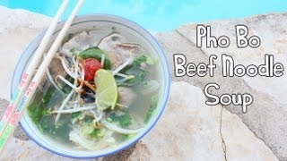 ❀cooking With Mom:pho Bo {beef Noodle Soup}