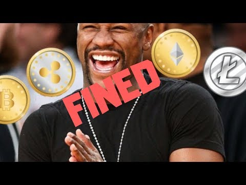 Floyd Mayweather & DJ Khaled Fined By SEC A Combined $767,500 | Cryptocurrency News Mp3