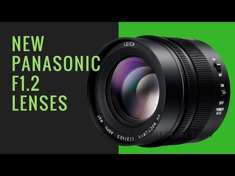 2 NEW Panasonic f1.2 Lenses BUT are YOU Interested???