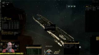 Carrier Ratting - Looking for Dreadnaught Rats - Presented in 4k - EVE Online Live