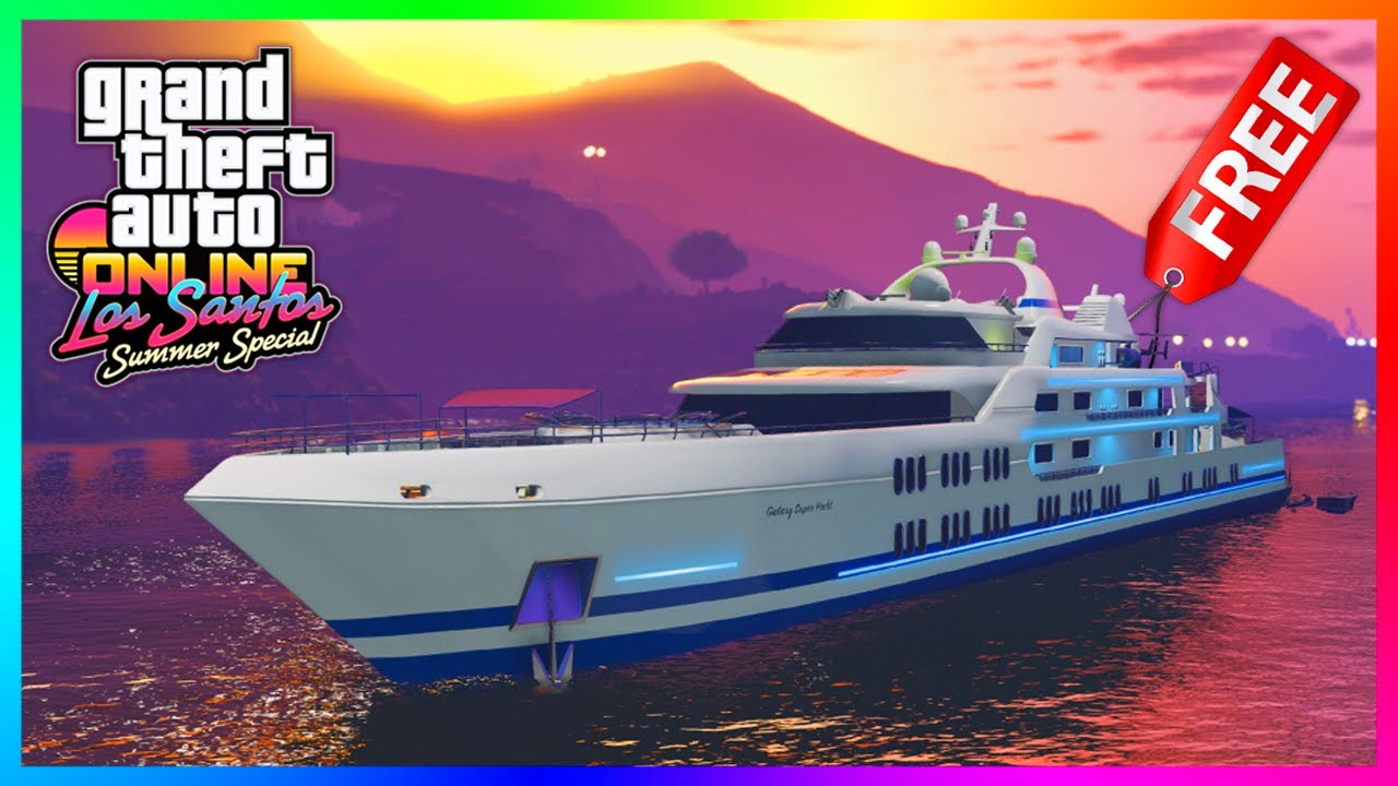 GTA 5 Online Los Santos Summer Special DLC Update - FREE ITEMS! Special Rewards, Bonus Cash & MO