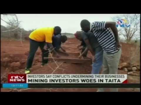 Mining investors woes in Taita Taveta