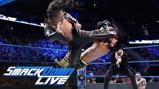 Shinsuke Nakamura ambushes Ali before match: SmackDown LIVE, Sept. 17, 2019