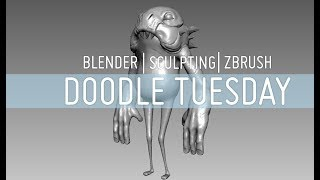 Doodle Tuesday | Sculpting | Blender | Zbrush | Chapter 5