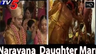 Narayana Institutions Chairman  Daughter Marriage -  TV5