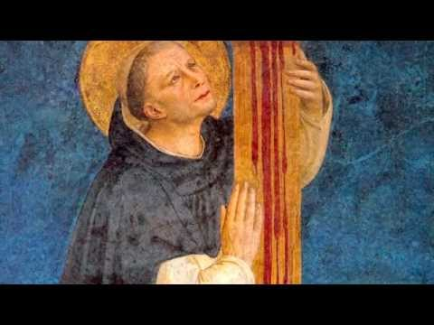 St. Dominic at the Cross, Fra Angelico - Michael Morris, OP